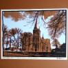 Kerk van Antonius abt. - Kolorowa grafika z widokiem na kościół św. Antoniego Opata