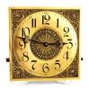 1892 - 1894 Filigranowy zegar ścienny LENZKIRCH w ebonizowanej obudowie