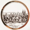 LEUBUS -dawne Opactwo Cystersów w Lubiążu na porcelanie KPM