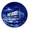 Pałac Dożów Wenecja 1976 rok - dekoracyjny talerz Meissen
