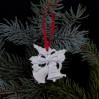 Dzwoneczki - urocza porcelanowa ozdoba choinkowa marki Hutschenreuther AG