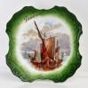 Dekoracyjny talerz marynistyka Dunkierka - porcelana francuska