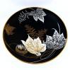 Matowa czerń rozświetlona złotem i bielą - niezwykła patera MALVACEA marki Rosenthal
