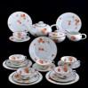Hutschenreuther wyjątkowy serwis do herbaty na 6 osób styl Art Deco