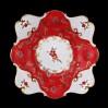 Efektowna luksusowa patera ze śląskiej porcelany – C.&E. Carstens Porzellanfabrik Sorau