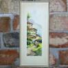 Stylowa marina z wedutą – kolorowa litografia we współczesnej oprawie