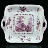 Wytworna taca ceramiczna w typie Ironstone China wytwórni Mason's