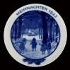 Talerz Weihnachten 1923 - wyrób marki Rosenthal projektu E. Hoefer