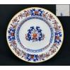 MINTON ok 1880 ! Piękny talerz kobalt i czerwień