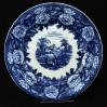 Blue&White Saxony dekoracyjny talerz ze scenką marki Villeroy&Boch