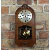 Sprawny antyk - gotowy do powieszenia na ścianie zegar