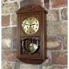 Zegar ścienny GB z lat 30tychXX wieku w ciepłym dębie