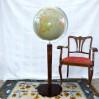 Gustowny Globus podłogowy z lat trzydziestych XX wieku