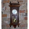 Piękny i dostojny zegar kwadransowy marki Gustav Becker