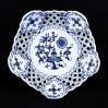 Luksusowa patera ze wzorem cebulowym z przełomu XIX i XX wieku