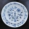 Luksusowa misa na wodę z porcelany MEISSEN dekor Zwiebelmuster