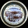 ber Bruckenberg - zaśnieżony widok na porcelanowej filiżance