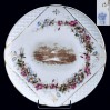 Ekskluzywna patera z porcelany śląskiej końca XIX wieku