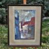 Obraz Witolda Marcina Podgórskiego malowany farbami temperowymi i gwaszem na płótnie