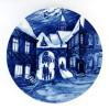 Okolicznościowy talerz Bożonarodzeniowy Meissen