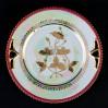Piękna porcelanowa patera z perłową poświatą
