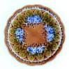 Majolikowy secesyjny talerz Villeroy