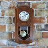 Witrażowy zegar z lat trzydziestych XX wieku