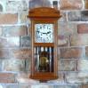 Ścienny zegar do salonu i stylowego gabinetu