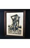 """Ponad półwieczna grafika """"Jeremiasz"""" autorstwa H. Lordesa."""