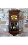 DUFA klasycznie piękny zegar wahadłowy z pięknym witrażem